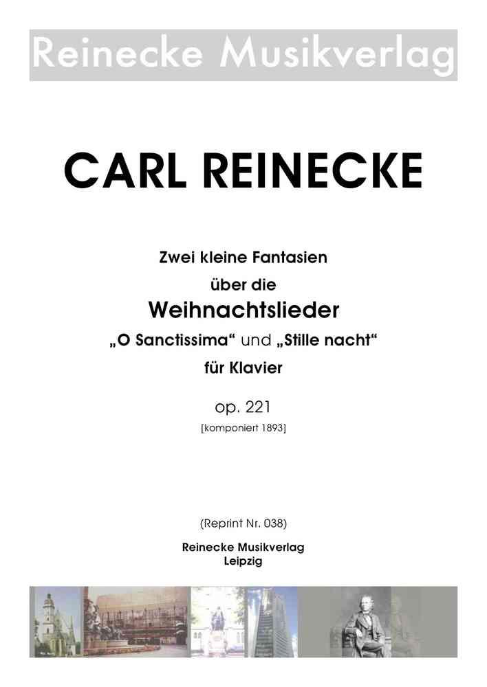 Reinecke: Zwei kleine Fantasien über Weihnachtslieder für Klavier op ...